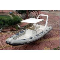 Buy cheap 830cm Inflatable Large Boat Navigator Bouyancy Tube Hypalon ORCA Fabric product