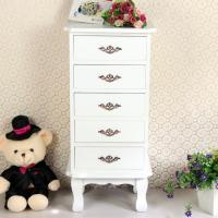 Buy cheap 5 White Wooden Drawers Boxes Fashion Cabinet Bedroom Furniture product