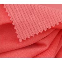 Buy cheap Running Apparel Interlock Knit Fabric Honeycomb Mesh Moisture Absorption from wholesalers