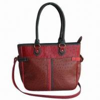 Buy cheap Synthetic Leather Orstrich Bag with Chic Stripe Decoration product