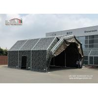 Buy cheap Camouflage Color Relocatable Aircraft Hangar 25 X 50 Side Hard Wall WITH Aluminum And PVC product