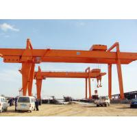 Buy cheap Heavy Duty Double Girder Gantry Crane Electric For Loading Unloading High Strength product