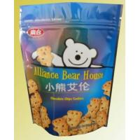 Quality Green Material Food Grade Plastic Bags for Cookie Packaging for sale