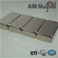 Buy cheap N35 motor nickel block neodymium magnets product