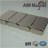Buy cheap N35 motor nickel block neodymium magnets from wholesalers