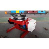 Buy cheap VFD Adjust Rotary Welding Positioners 600KG Loading Capacity , 1000mm Table With T-Slot product