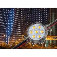 Buy cheap Small 50MM Smd 5050 Pixel Xmas Lights , Facade Building Outdoor Pixel Lights product