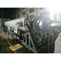 Buy cheap 500mm - 1.2m HDPE Extrusion Machine For Water Supply And Gas Supply Pipe product