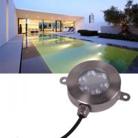 Buy cheap Outdoor 12V LED Underwater Fixture Stainless RGB Color Changing LED Pool Light product