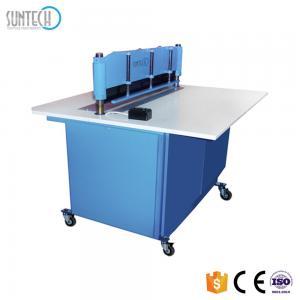 Buy cheap SUNTECH Motorized Fabric Sample Cutting Machine cloth cutting machine whatsapp:+8615167191274 product