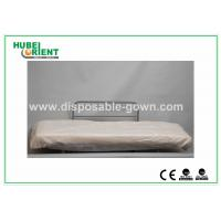 Buy cheap Hospital Disposable Bed Sheets Sanitary PP Bedcover / Disposable Waterproof Sheets With Elastic product