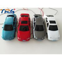 Buy cheap 1:50 scale ABS plastic  model painted  light car with LED for HO scale model train layout product
