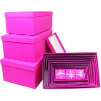 Buy cheap Folding decorated kraft gift box custom , luxury handmade boxes for gifts product