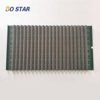 Buy cheap Wave Shaker Screen For Solids Control and Offshore Onshore Drilling Equipment Mud Cleaner product