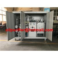 Buy cheap Hot ! Transformer Oil Filtration Plant, MIneral Dielectric Insulator Oil Purification Machine with weather-proof canopy product