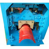 Buy cheap 3KW Ridge Cap Roll Forming Machine For Color Steel Sheet , 0.3-0.6mm Thickness product
