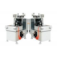 Buy cheap Double Heads Stator Lacing Machine With Turntable For Electrical Fan Motor Making product