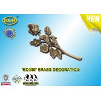 Buy cheap No . BD030 Brass Roses Bronze Funeral Decoration Size 23.5×11 Cm Material Copper Alloy product