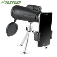 Buy cheap Foreseen 12x50 Compact Monocular Telescope , Portable Pocket Hd Monocular Telescope With Pouch product