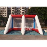 Buy cheap Kids N adults challenge inflatable penalty football goal shoot over game for outdoor event product