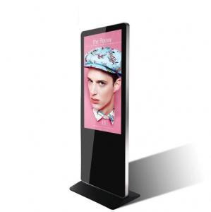 China Digital LCD Signage Indoor Kiosk Narrow Bezel 55 Inch Totem Ultra Thin Design on sale