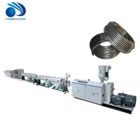 Buy cheap PE PP Pvc Electrical Conduit Pipe Making Machine Fully Automatic Low Noise product