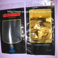 Buy cheap Six Cigar Plastic Bags / Cigar Ziplock Bags OPP PE Laminated Material product