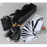Buy cheap Wholesales high 3TrackS MSR605 Magnetic Stripe Card Reader Writer Swipe Credit & Debit Card MSRE606 with 20 blank Cards product