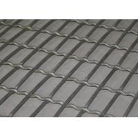 Buy cheap Lock Crimped Weave Stainless Screen Mesh For Pig Raising , Corrosion Resistant product