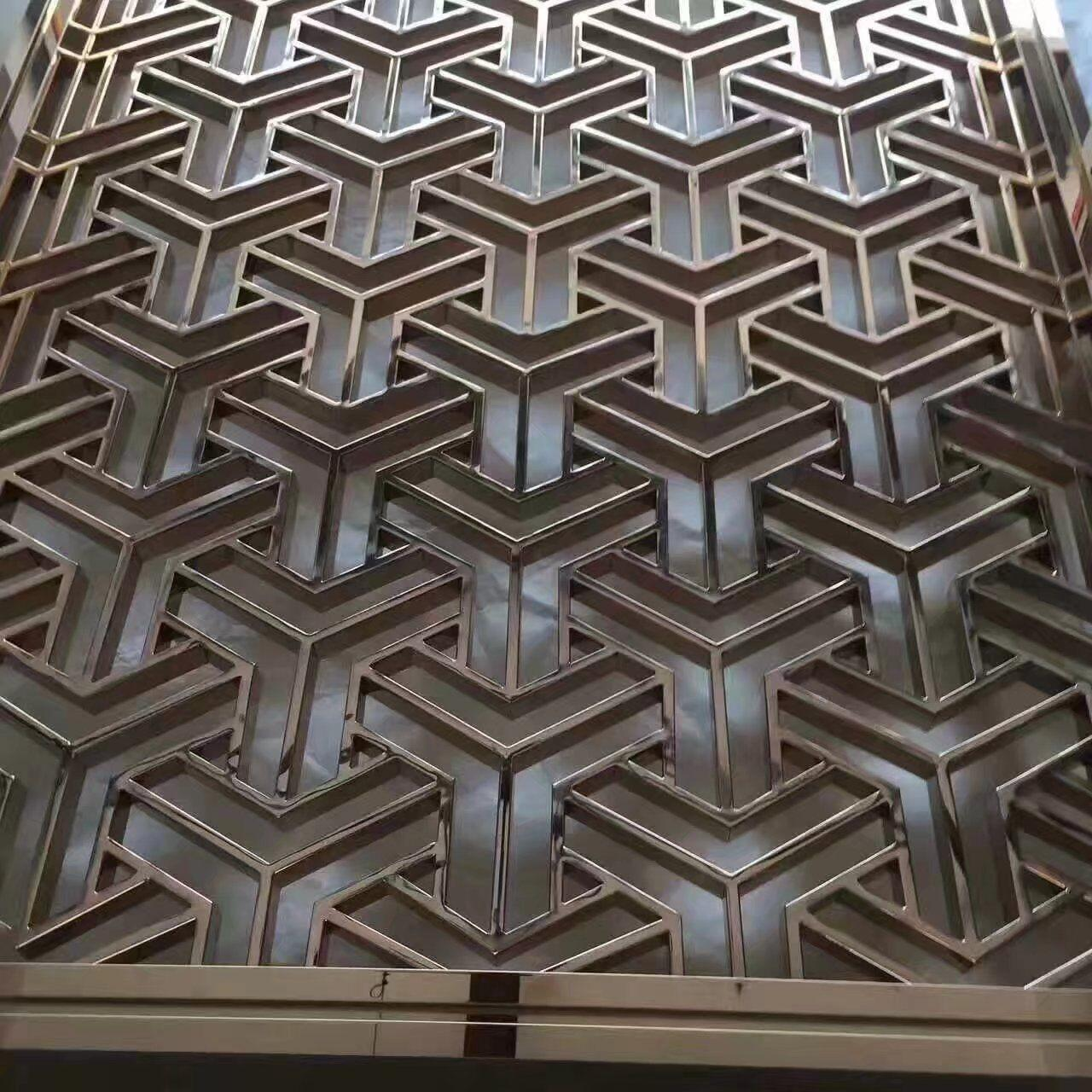 Buy cheap 2019 Hot sale stainless steel screen design sheets in foshan manufacturer from wholesalers