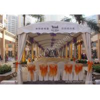 Buy cheap 4M Width Arc Shape Outdoor Commercial Event Tent Hard Presed Aluminum Alloy from Wholesalers