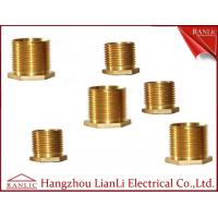 Buy cheap Brass Male Bush Brass Electrical Wiring Accessories Long Hexagon Head GI Thread product