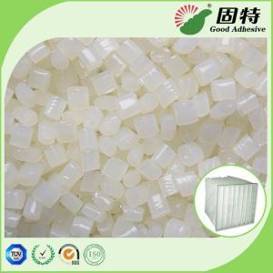 Buy cheap White granul Pocket Air Filter Making Hot Melt Pellets Great Sealing Performance EVA Hot melt Adhesive Pocket Air Filter product