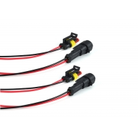 Buy cheap 18 Awg Car To Plug Waterproof 140mm Cable Wiring Harness product