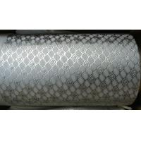 Buy cheap Alloy Steel Embossing Roller For Paper , Tissue , Foil And Leather With Different Pattern product
