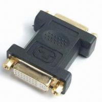 Buy cheap DVI Connector Adapter, with HDMI® Male to DVI Female, Full Copper Connectors product
