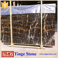 Buy cheap Popular Polished Afghan Black And Gold Marble For Stone Project product