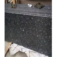 Black Galaxy Granite Tile Waterfall Scenery Exterior Wall Hanging