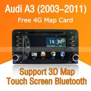Buy cheap Audi A3 Autoradio DVD GPS Navi with Digital TV Bluetooth USB product