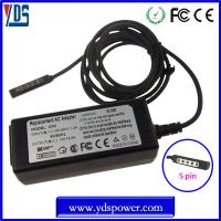 Buy cheap wholesale china charger dc power adapter / tablet charger 12v 3.6a 45w for microsoft surface pro product