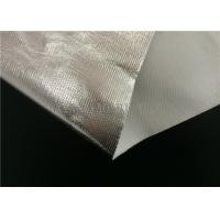 Buy cheap SGS Certificated Aluminum Foil Coated Fiberglass Fabric Single Side Coating product