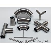 """Buy cheap Equipment Usage Sanitary Valves And Fittings Stainless Steel Tee Welded End 1""""x1""""x1"""" product"""
