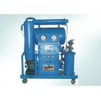 China Triple Stage Filters Transformer Oil Filtration Machine For Online Work on sale