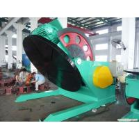 Buy cheap Stands Pipe Weight 5 Tons Welding Positioner Turning Table Use Schneider VFD Control Revolving Speed product