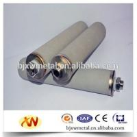 Buy cheap titanium sintered power filtration supply size customized product