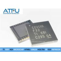Buy cheap CC1110F32RHHR Integrated Circuit Chip QFN36 Wireless RF Transceiver High Sensitivity product