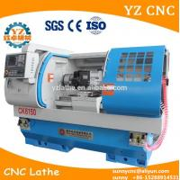 Buy cheap CK6150 CNC Lathe machine with power head and milling tools high speed product