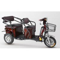 China Waterproof Motor 2 Seat Electric Tricycle Adult Motorized Tricycle For Passenger on sale