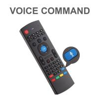 Buy cheap 2.4G Air Mouse Remote Control Keyboard Learning Voice Input for Android TV Box product