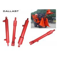 Buy cheap GS Agricultural Hydraulic Cylinders , Double Acting With Piston Hydraulic Oil Cylinder product